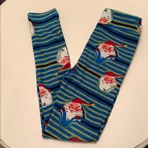 Never Worn LuLaRoe Christmas Leggings Size L/XL